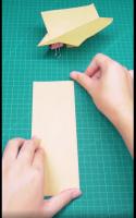 回旋纸飞机怎么折?