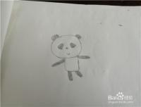 怎么画俏皮的熊猫
