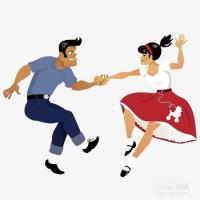 跳双人舞时如何做到协调