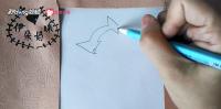 如何简笔画画出阿童木