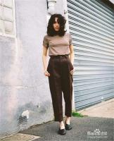 夏天,怎么利用裤子搭配出高级的复古风