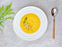 奶油南瓜粥的做法~网红蘑菇南瓜浓汤 浓郁香甜