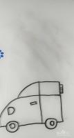 简笔画——怎么画简笔画吉普车(汽车)
