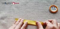 如何手工折纸折出一把小刀