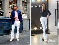 白色裤子如何搭衣服?