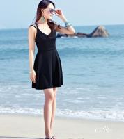 夏天,矮个子女生穿什么衣服比较显高