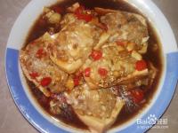 鱼肉镶水豆腐的做法