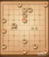 天天象棋3月3日的【残局挑战】166期6步通关法