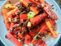 芽菜炒胡萝卜---养身菜系列