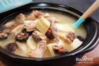 梅香竹笋鸡汤的做法