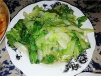 怎么要做家常菜醋溜生菜