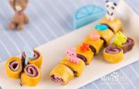 12个月宝宝辅食---紫薯奶酪土司卷