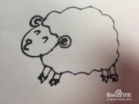 如何画羊的简笔画?羊的简笔画怎么画?
