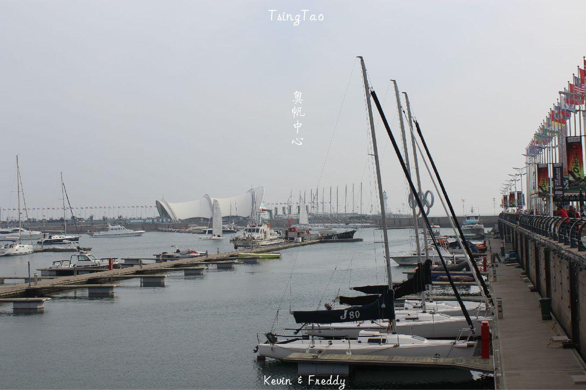 众多的帆船也体现了青岛帆船之都的特色.图片