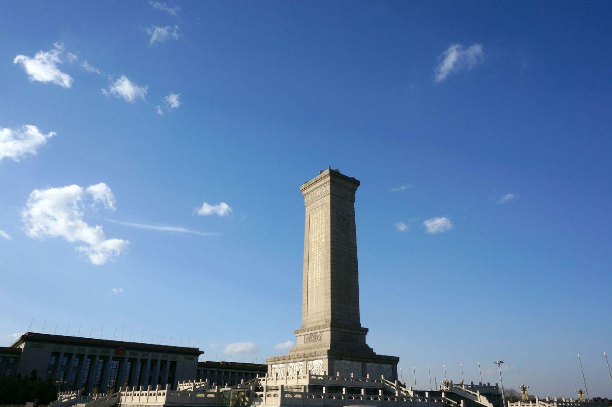 人民英雄纪念碑图片