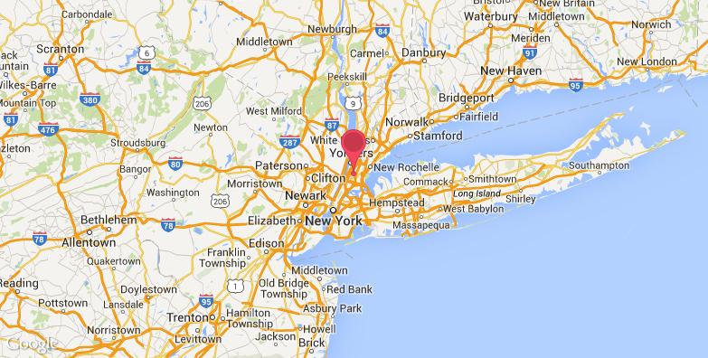 纽约植物园旅游地图