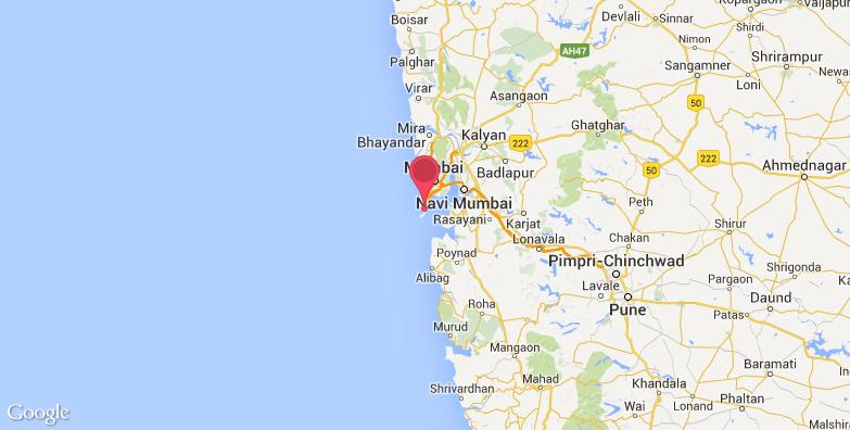 2016最新孟买印度门旅游地图_孟买印度门旅游景点地图