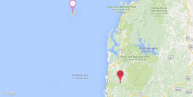 2016最新攀牙湾旅游地图