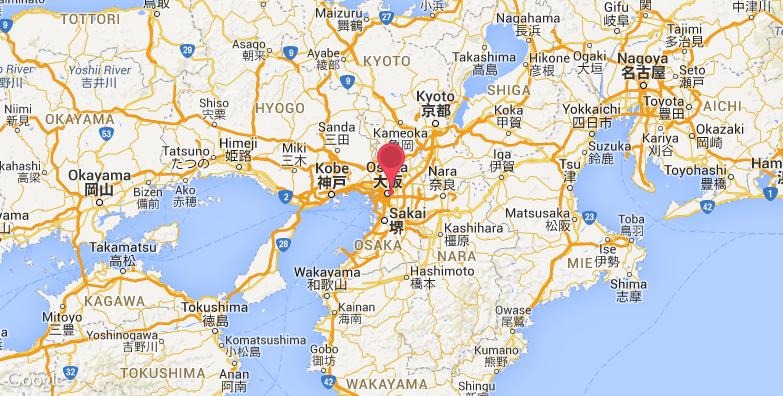 大阪丰国神社旅游地图