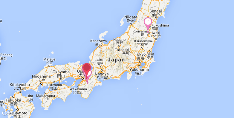 奈良旅游地图
