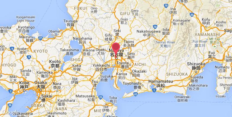 2016最新名古屋城旅游地图_名古屋城旅游景点地图_城
