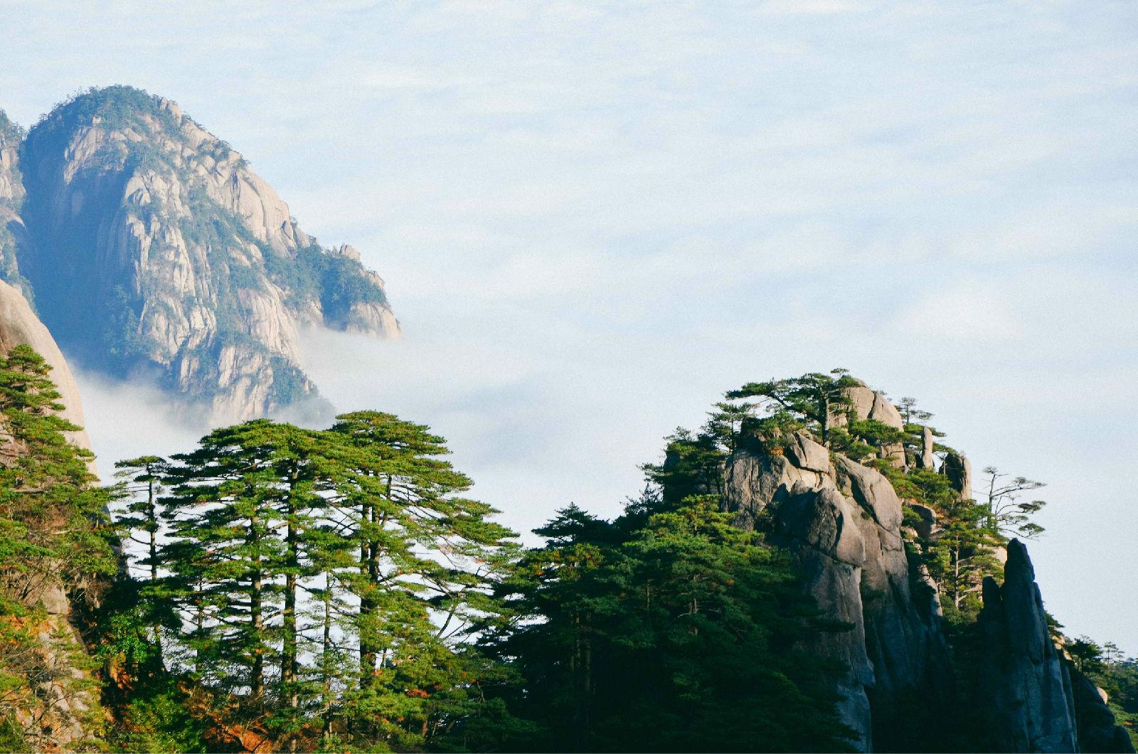 黄山优美风景高清图