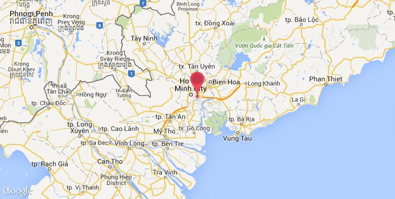 2016最新西贡市政厅旅游地图_西贡市政厅旅游景点地图