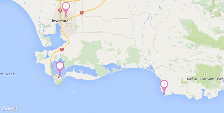 2016最新南岛旅游地图