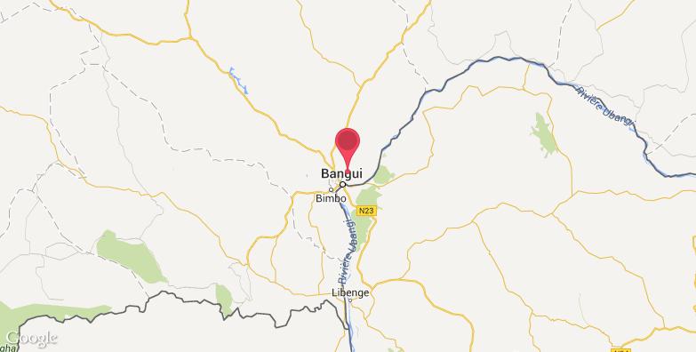 班吉旅游地图