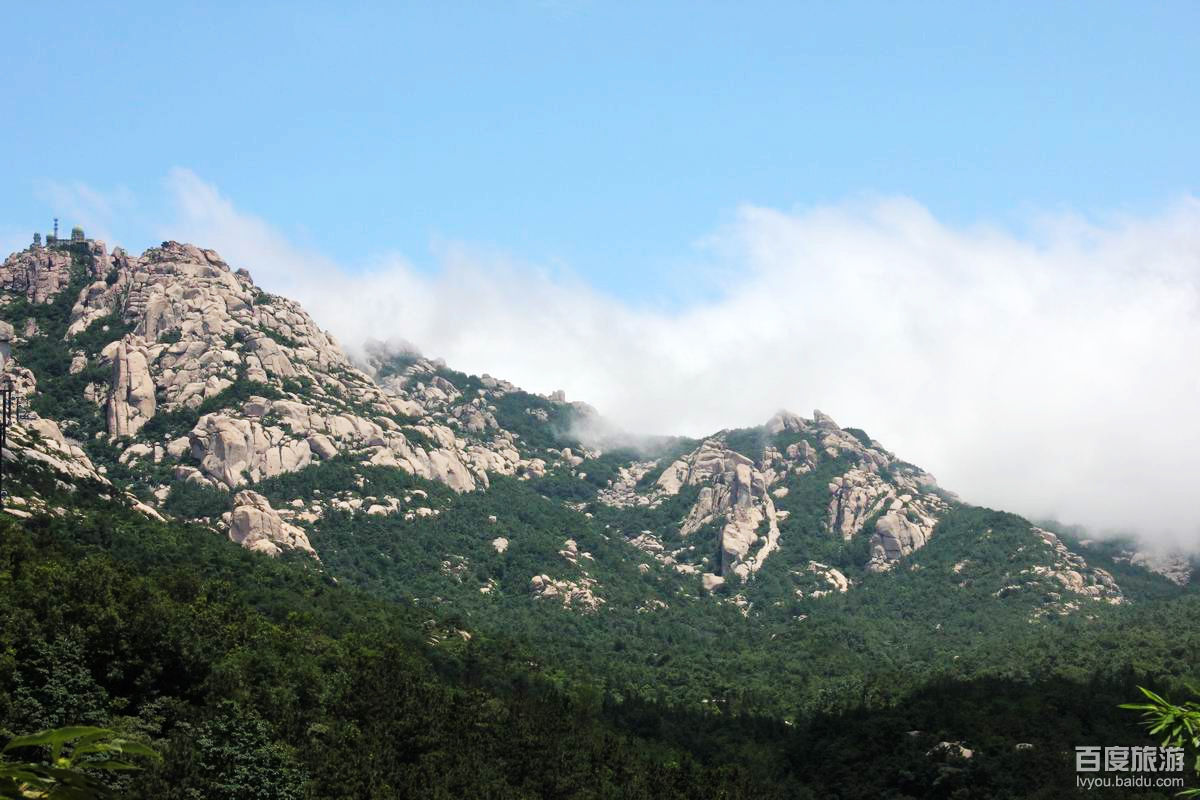 仰口风景区目的地: 亚洲中国山东青岛崂山仰口风景区 仰口风景游览区