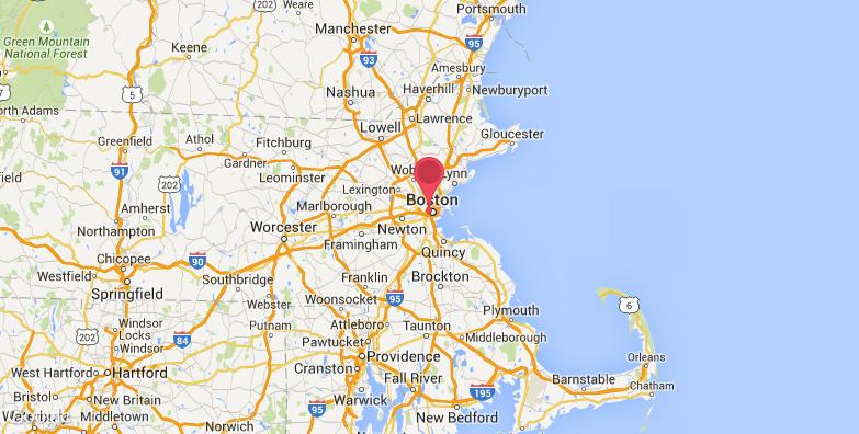 波士顿三一教堂旅游地图