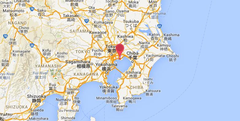 东京迪士尼乐园旅游地图