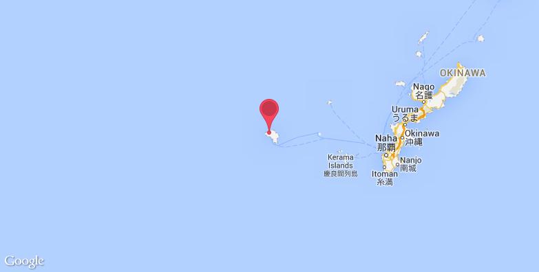 久米岛旅游地图