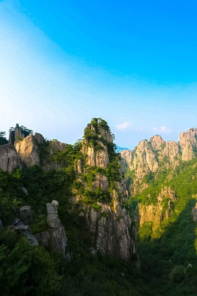 黄山最美风景竖屏壁纸