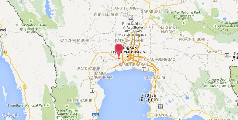 2016最新曼谷玫瑰花园旅游地图_曼谷玫瑰花园旅游景点