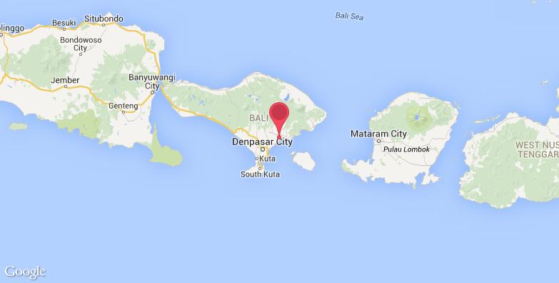 2016最新巴厘岛野生动物园旅游地图