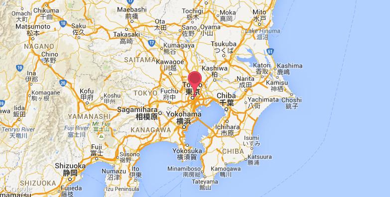 东京大学旅游地图