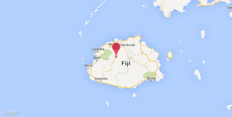 维提岛旅游地图