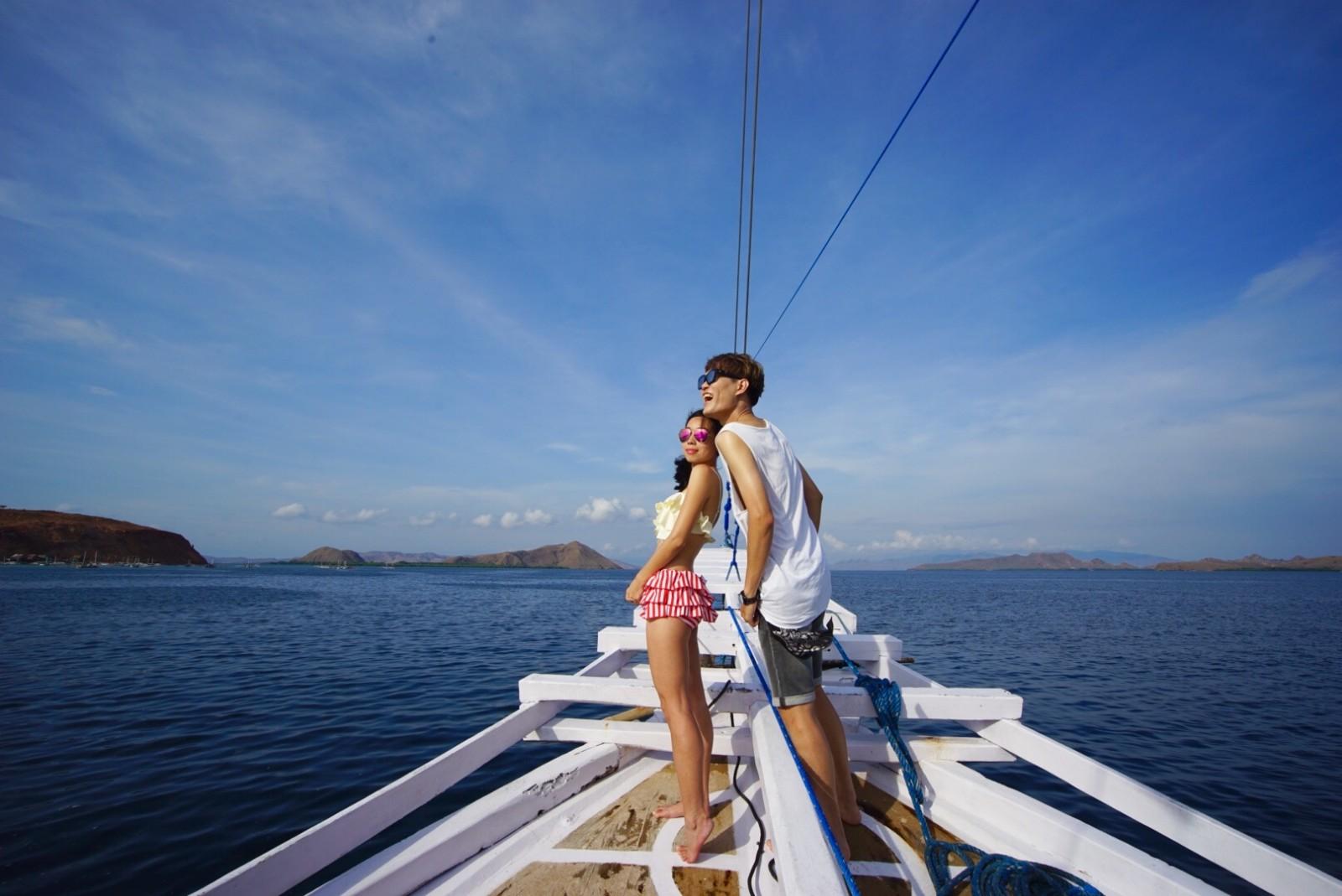 6天嗨翻浪漫印尼,粉红海滩邂逅科莫多巨蜥,宝宝惊呆了