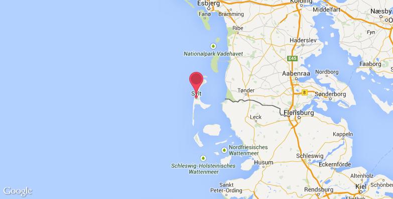 叙尔特岛旅游地图