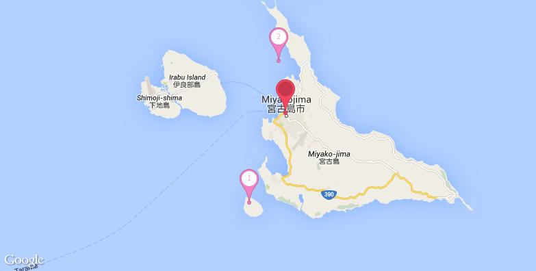 2016最新宫古岛旅游地图