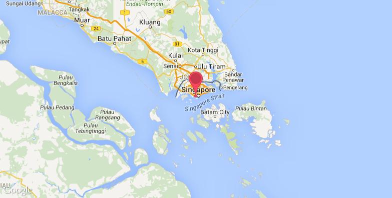 新加坡环球影城旅游地图