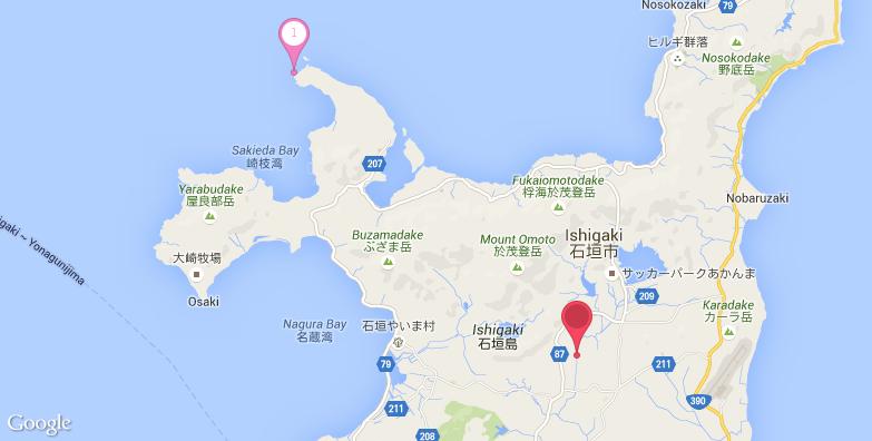 石垣岛旅游地图