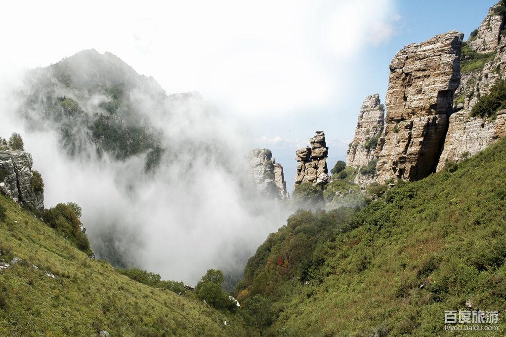 亚洲中国河北保定白石山