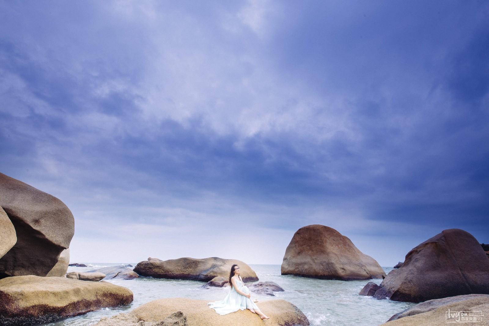 那琴半岛地质海洋公园位于台山市北陡镇南部海湾上,海岸线全长6000多