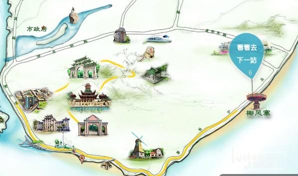 《鼓浪屿,我来了 》手绘地图_鼓浪屿旅游攻略_百度旅游