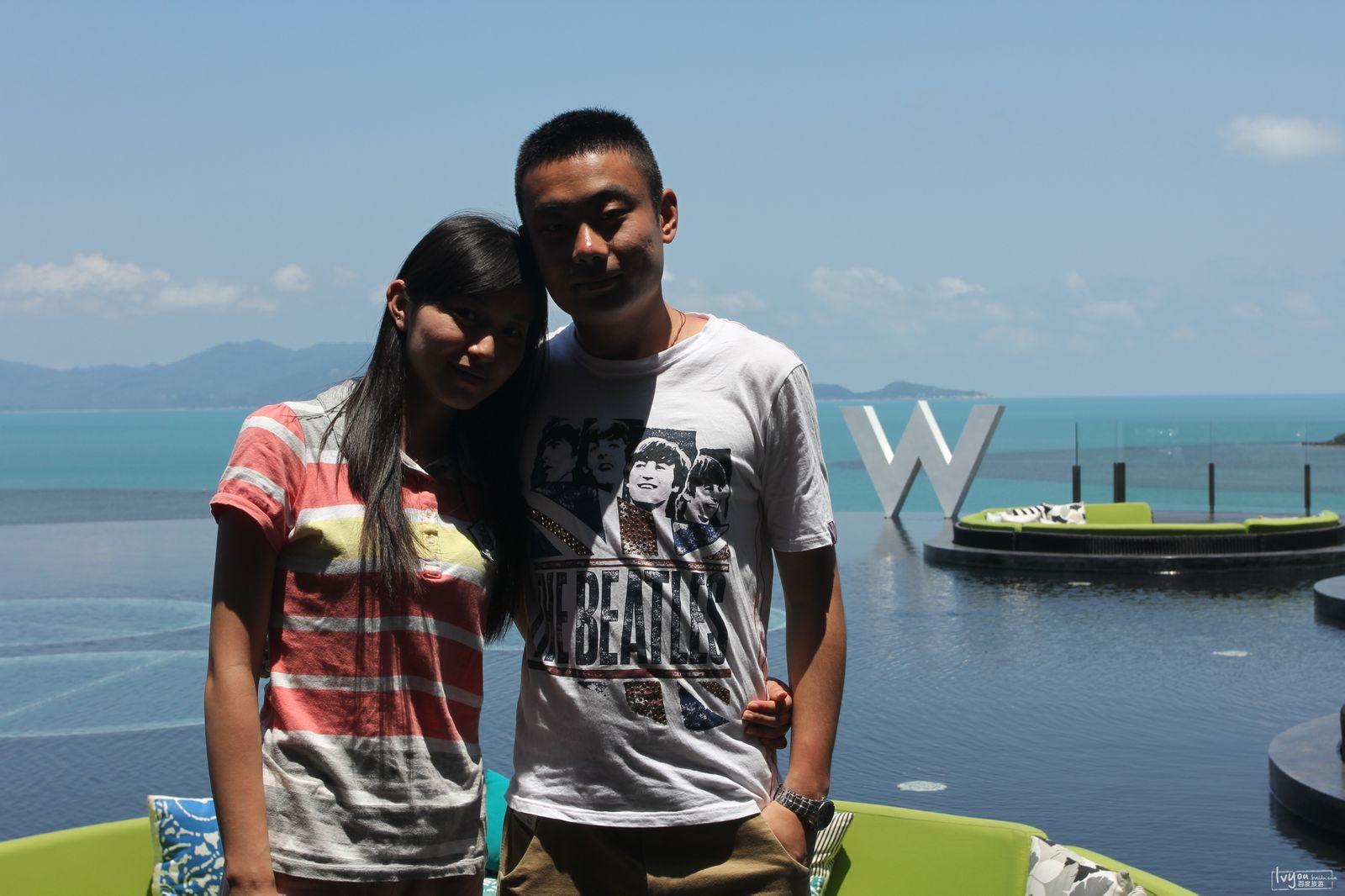 2013的首次旅行,泰国曼谷-苏梅岛-香港