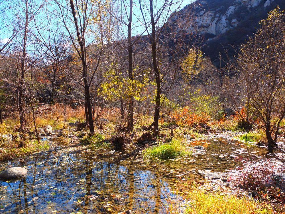 怀柔区神堂峪景区图片