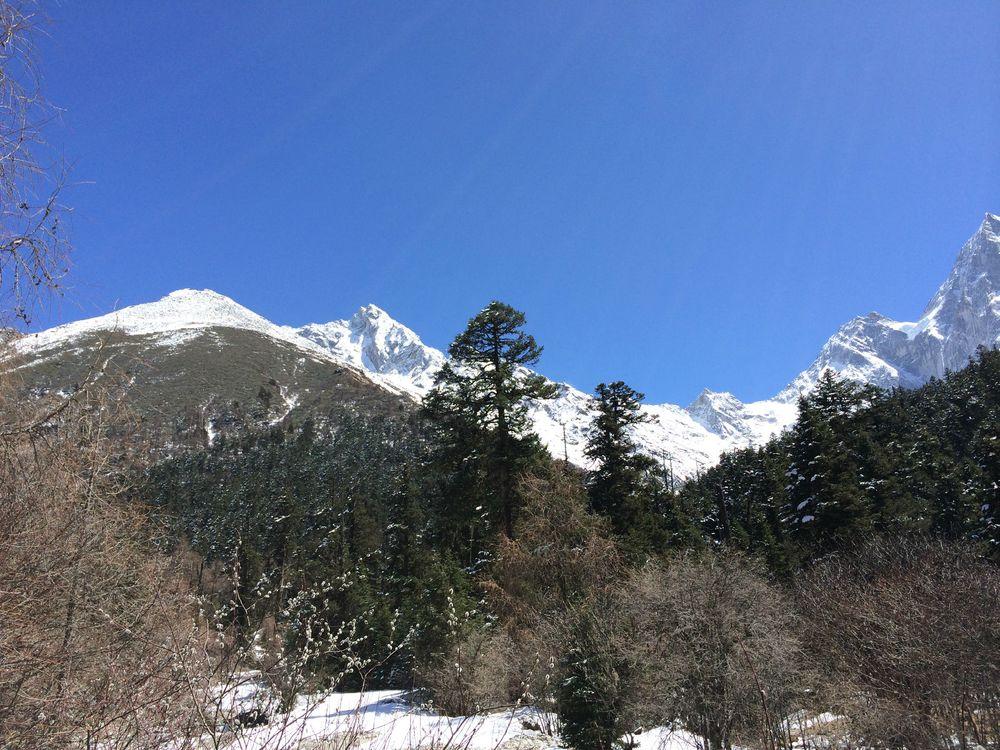 四川阿坝州毕棚沟风景区