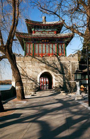 北京风情之北海公园篇
